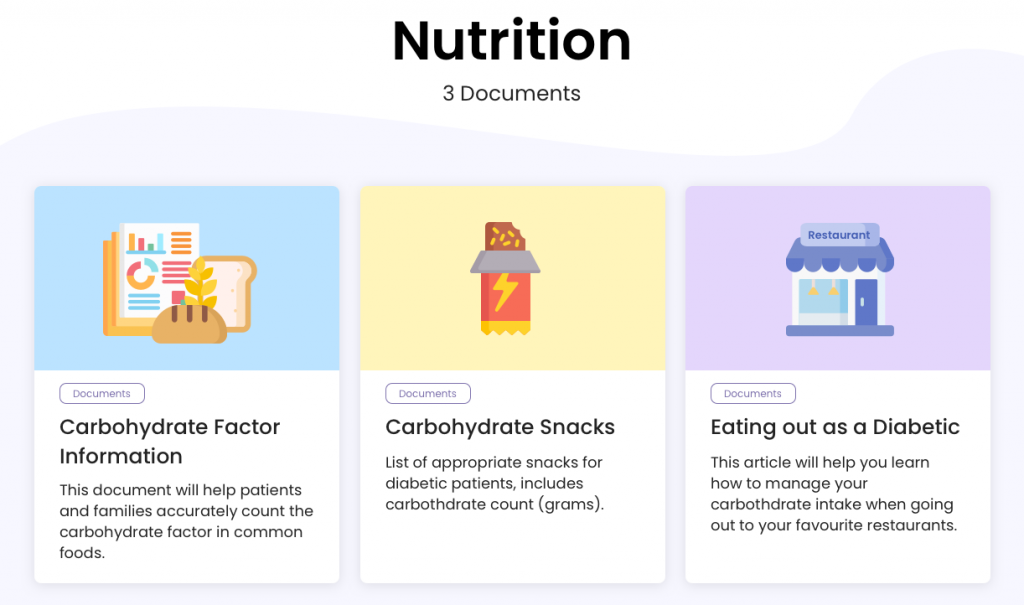 Educational resources for people with diabetes  on the new St. Michael's Hospital patient portal.